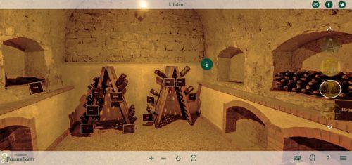 Perrier-Jouët visite virtuelle_Eden