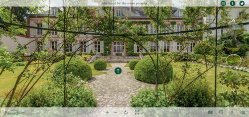 Perrier-Jouët visite virtuelle_Jardin