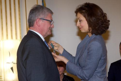 Hervé Deschamps, Audrey Azoulay