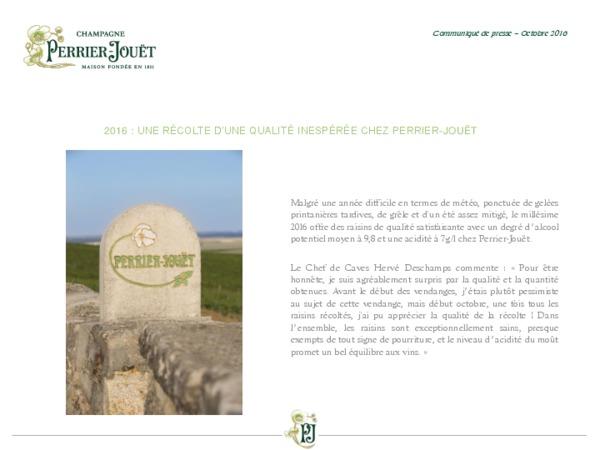 Communiqué de presse Vendanges Perrier-Jouët 2016.pdf