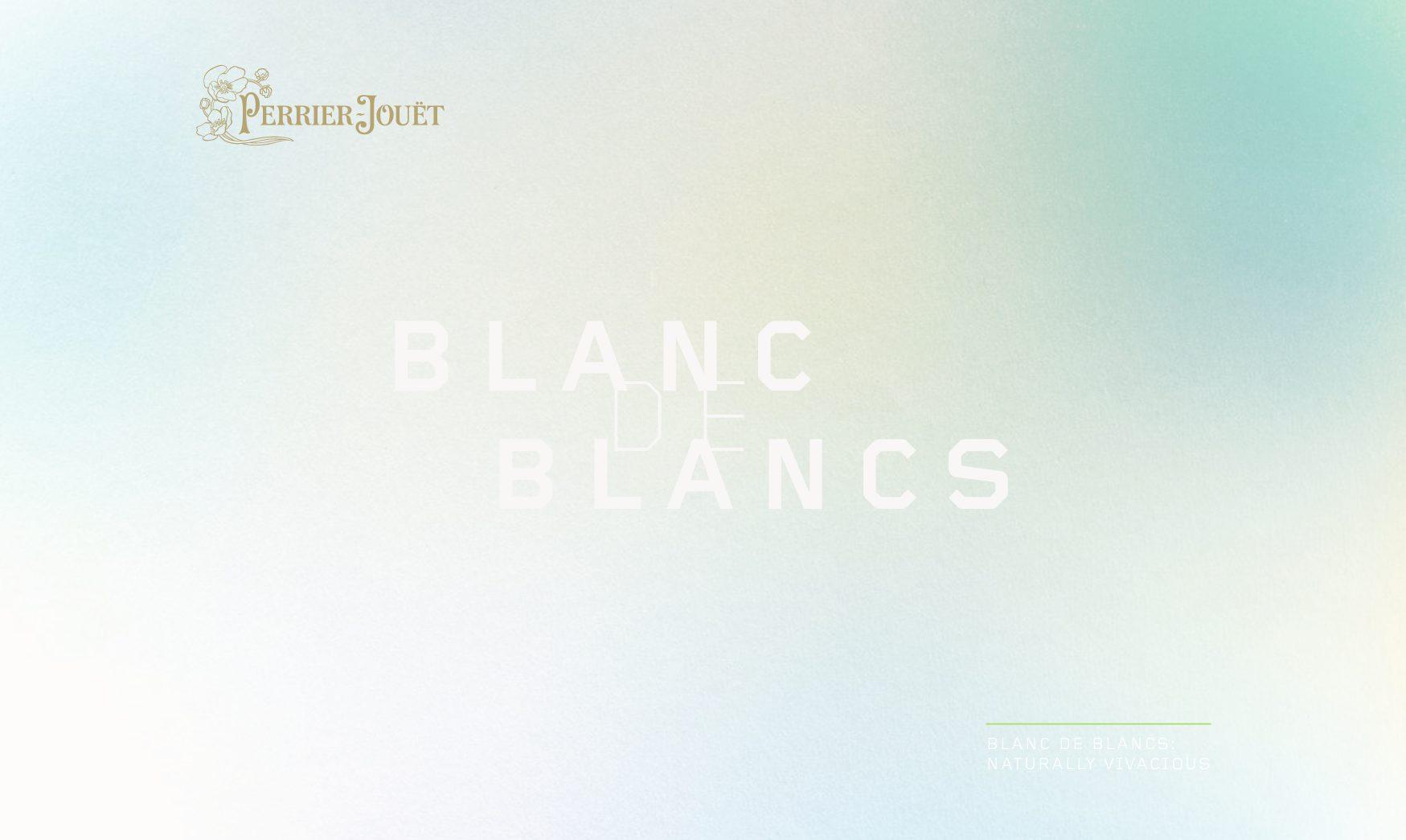 Press Release Perrier-Jouët Blanc de Blancs