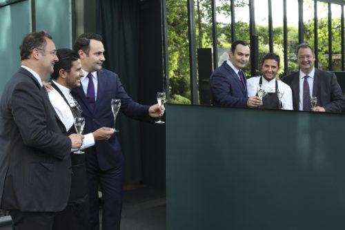 César Giron, Akrame, Timothée Croizat
