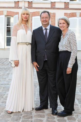 Karolina Kurkova, César and Corine Giron