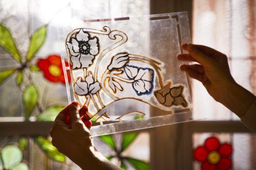 Perrier-Jouët Stained-glass window.jpg