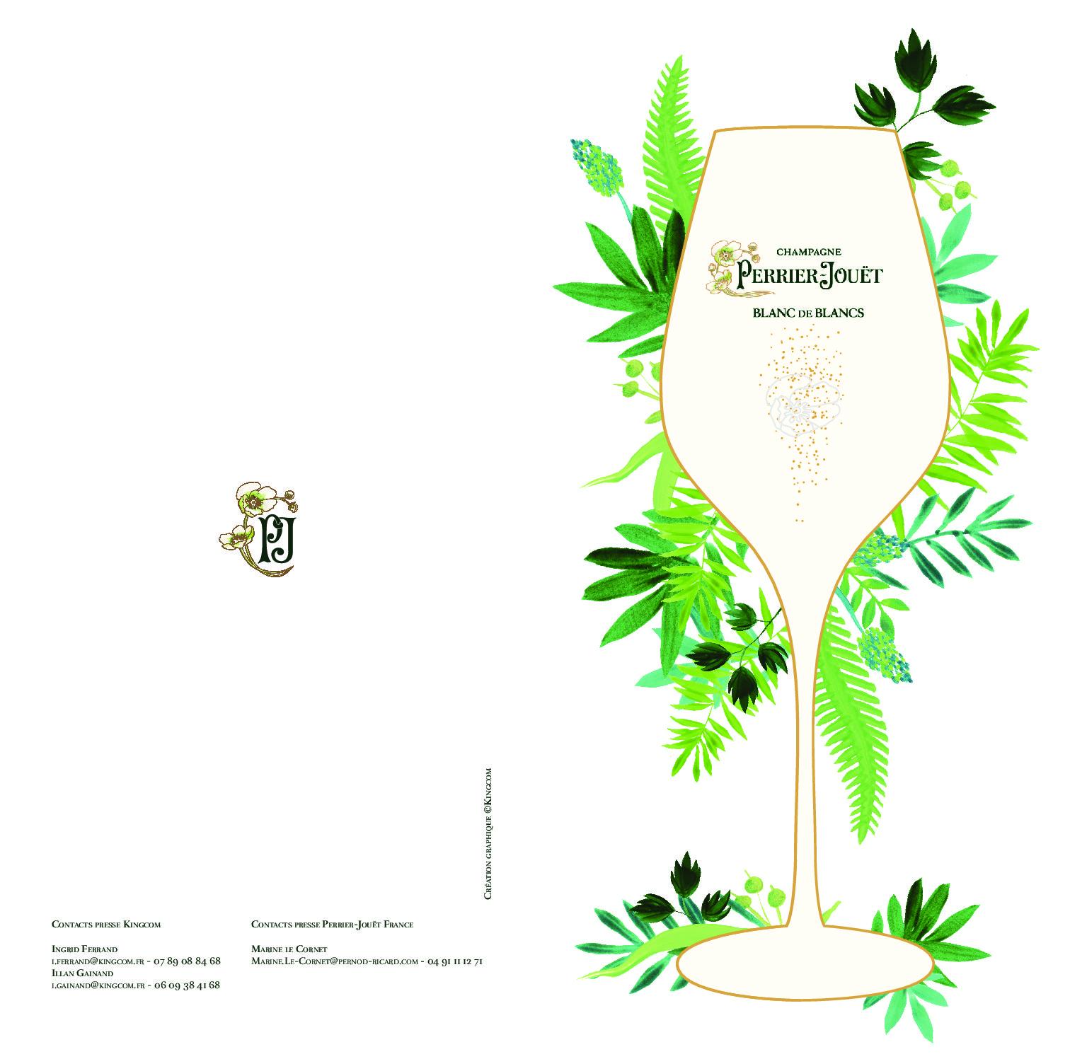 CP Perrier Jouët Blanc de Blancs Edition Limitée