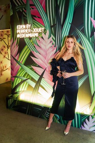 Ellie Goulding at Eden by Perrier-Jouët in Miami