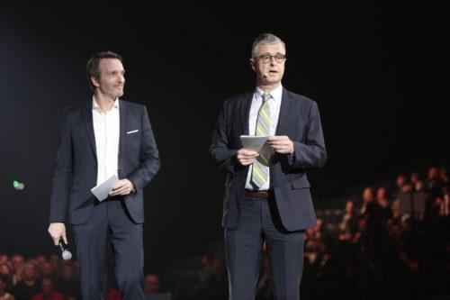 Soirée des Vignerons 2017 - Stéphane Rotenberg et Christophe Danneaux