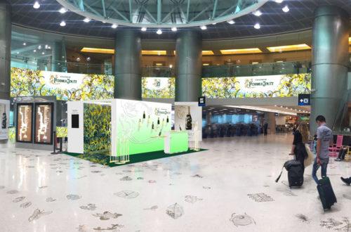 Pop-Up Miami Airport Perrier-Jouët - Miami 2017