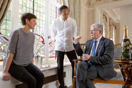 Perrier-Jouët tastings in Maison Belle Epoque in Epernay with Hervé Deschamps