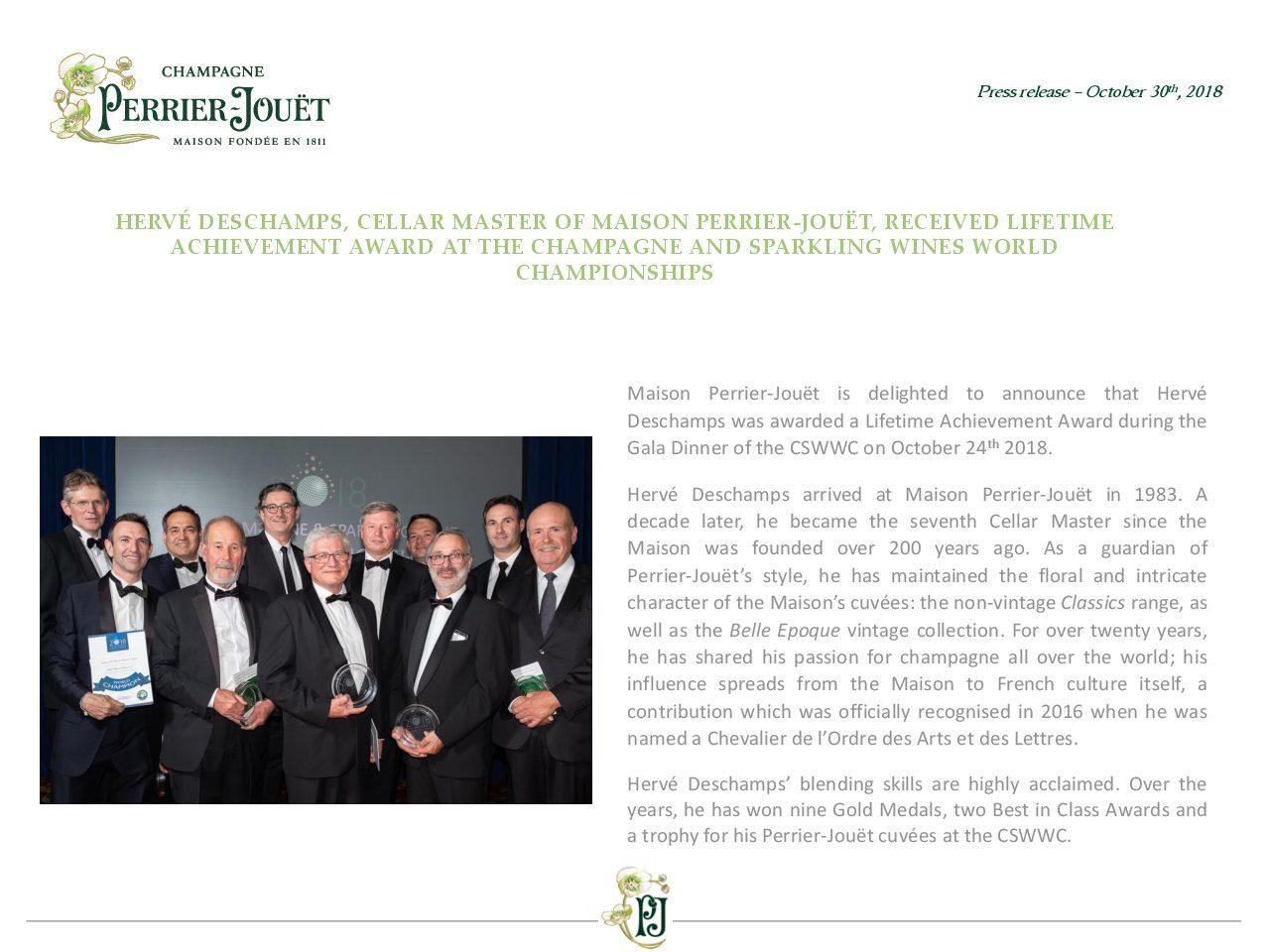 Perrier-Jouet press release - HD CSWWC lifetime achievement award-pdf